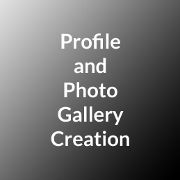 Profile and Photo Gallery Creation